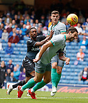 21.07.2019: Rangers v Blackburn Rovers: Charlie Mulgrew and Jermain Defoe