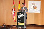 King Felipe VI of Spain attends the 2013 'Innovation and design' awards ceremony at Museo de la Ciencia in Valladolid, Spain. July 01, 2014. (ALTERPHOTOS/Victor Blanco)