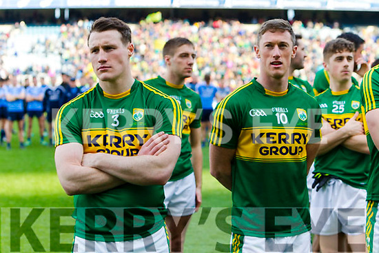 Mark Griffin Kerry players celebrate after defeating Dublin at the National League Final in Croke Park on Sunday.