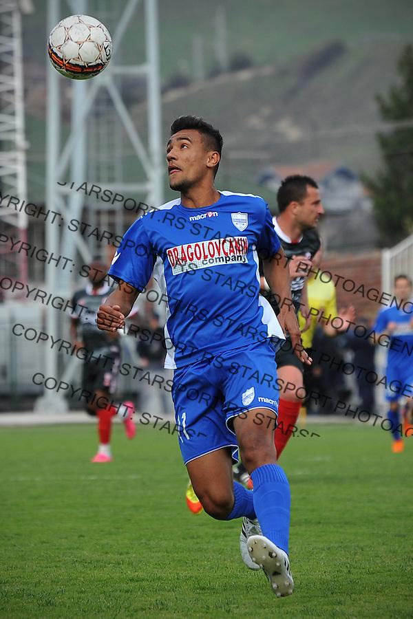 Fudbal Super liga season 2015-2016<br /> Novi Pazar v Vozdovac<br /> Bruno Matos<br /> Novi Pazar, 2. 4. 2016<br /> foto: Emir Sadovic/Starsportphoto &copy;