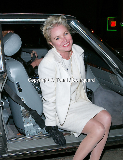 Michelle Phillips posing at the  premiere of Lost In The Pershing Point Hotel at the Laemmle Fairfax Theatre in Los Angeles. November 27, 2001.           -            PhillipsMichelle04.jpg