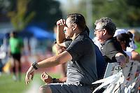 Kansas City, MO - Sunday September 04, 2016: Vlatko Andonovski during a regular season National Women's Soccer League (NWSL) match between FC Kansas City and the Sky Blue FC at Swope Soccer Village.