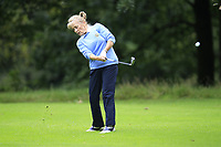 June McEvoy (Warrenpoint) during the final  of the Ulster Mixed Foursomes at Killymoon Golf Club, Belfast, Northern Ireland. 26/08/2017<br /> Picture: Fran Caffrey / Golffile<br /> <br /> All photo usage must carry mandatory copyright credit (&copy; Golffile   Fran Caffrey)