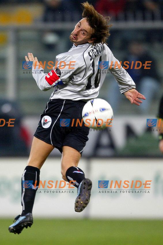 Genova 13/3/2004 CAMPIONATO ITALIANO SERIE A - <br /> 25a giornata - Matchday 25 <br /> Sampdora Bologna 3-2 <br /> Giuseppe Signori (Bologna)<br /> Photo Andrea Staccioli Insidefoto