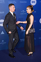 Jamie Bell and Kate Mara<br /> arriving for the British Independent Film Awards 2017 at Old Billingsgate, London<br /> <br /> <br /> &copy;Ash Knotek  D3359  10/12/2017