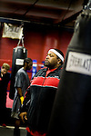Blimp, the manager and primary trainer for the 5 Golden Gloves contenders.. Gleason's Gym has continued its long standing tradition in the boxing world as a training ground of competitors by putting 5 fighters into the finals of the 2006 Golden Gloves amateur boxing competition.. An inside look at the last 10 days of training for the 5 young fighters.