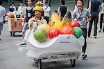Competitors in action during the Red Bull Soapbox on June 14, 2012 in Hong Kong. Photo by Xaume Olleros / The Power of Sport Images