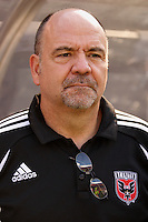 D.C. United's director of team administration Ray Trifari. The New York Red Bulls defaeted D. C. United 1-0 in an MLS regular season match at Giants Stadium, East Rutherford, NJ, on July 22, 2007.