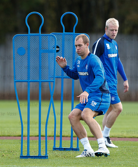 Steven Whittaker and Steven Naismith