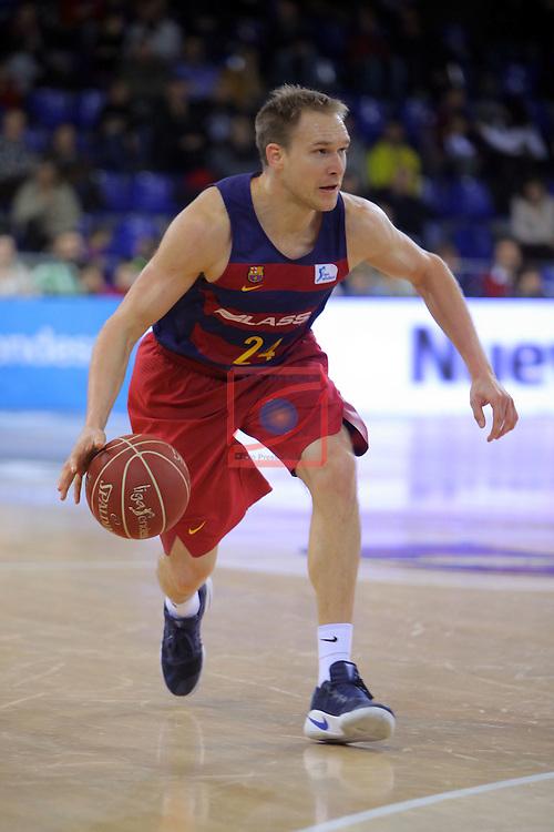 League ACB-ENDESA 2016/2017 - Game: 16.<br /> FC Barcelona Lassa vs Rio Natura Monbus Obradoiro: 100-76.<br /> Brad Oleson.