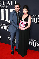 HOLLYWOOD, CA - FEBRUARY 13; Richard de Klerk and Cara Gee at The Call Of The Wild World Premiere on February 13, 2020 at El Capitan Theater in Hollywood, California. Credit: Tony Forte/MediaPunch