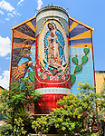 The world's largest Virgin Mary Mosaic