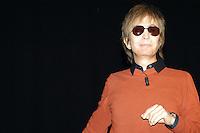 MICHAEL CIMINO.Travel in the American cinema, Park of Music, .Auditorium Rome, Italy, April 14th 2007..half length sunglasses orange jumper top black shirt.CAP/CAV.©Luca Cavallari/Capital Pictures.