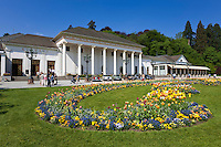 Germany, Baden-Wuerttemberg, Baden-Baden: spa building with the famous Casino Baden-Baden at spa gardens | Deutschland, Baden-Wuerttemberg, Baden-Baden: Kurhaus mit dem beruehmten Casino Baden-Baden im Kurpark