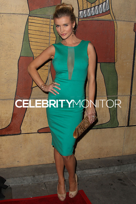 """HOLLYWOOD, CA - JANUARY 14: Model Joanna Krupa arrives at the Los Angeles Screening of Roadside Attractions & Day 28 Films' """"Gimme Shelter"""" held at the Egyptian Theatre on January 14, 2014 in Hollywood, California. (Photo by Xavier Collin/Celebrity Monitor)"""