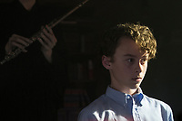 It (2017)<br /> WYATT OLEFF as Stanley Uris<br /> *Filmstill - Editorial Use Only*<br /> CAP/KFS<br /> Image supplied by Capital Pictures