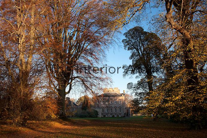 Scottish arcadia, Arniston in its autumnal glory