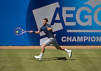 DAN EVANS (GBR)<br /> <br /> Aegon Championships 2014 - Queens Club -  London - UK -  ATP - ITF - 2014  - Great Britain -  10th June 2014. <br /> <br /> &copy; AMN IMAGES