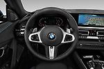 Car pictures of steering wheel view of a 2020 BMW Z4 Base 2 Door Convertible