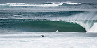 MARGARET RIVER, Western Australia/AUS (Saturday, April 14, 2018) Michel Bourez (PYF) - Stop No. 3 on the World Surf League (WSL) Championship Tour, the Margaret River Pro, continued today with the remaining heats of men&rsquo;s Round 1 and women&rsquo;s Round 1 in heavy four-to-six foot (1.2 - 1.8 metre) waves at North Point.<br /> <br /> North Point, the backup site known for its intense, barreling waves, hosted the world&rsquo;s best female CT surfers for the first time in history today. Despite the slower and more challenging conditions, the women dominated the day, including the highest single-wave scores of the event from Tatiana Weston-Webb (HAW) and Carissa Moore (HAW).  <br /> <br /> 2012 WSL Champion Joel Parkinson (AUS) beat Michel Bourez (PYF) and Patrick Gudauskas (USA) to close out the men&rsquo;s competition in Heat 12. Parkinson&rsquo;s heat total of a 10.34 was the highest of the men's morning as conditions slowed over the low tide, showing experience pays at the elite level.Photo: joliphotos.com