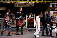 FILE PHOTO -  Punks in Toronto in the 8O's<br /> <br /> Photo  :  Denis Alix - Agence Quebec Presse