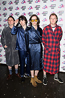 PEACE at the VO5 NME Awards 2018 at the Brixton Academy, London, UK. <br /> 14 February  2018<br /> Picture: Steve Vas/Featureflash/SilverHub 0208 004 5359 sales@silverhubmedia.com