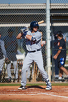 Detroit Tigers Grayson Greiner (15) during a Minor League Spring Training intrasquad game on March 24, 2018 at the TigerTown Complex in Lakeland, Florida.  (Mike Janes/Four Seam Images)