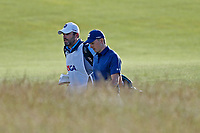 Jordan Spieth (USA) walks the 18th hole during the second round of the 118th U.S. Open Championship at Shinnecock Hills Golf Club in Southampton, NY, USA. 15th June 2018.<br /> Picture: Golffile | Brian Spurlock<br /> <br /> <br /> All photo usage must carry mandatory copyright credit (&copy; Golffile | Brian Spurlock)