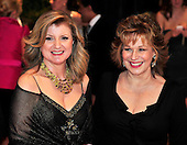 Arianna Huffington and Joy Behar arrive at the Washington Hilton Hotel for the 2010 White House Correspondents Association Annual Dinner in Washington, D.C. on Saturday, May 1, 2010..Credit: Ron Sachs / CNP.(RESTRICTION: NO New York or New Jersey Newspapers or newspapers within a 75 mile radius of New York City)