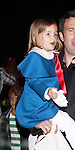 October 31st 2013   Exclusive <br /> <br /> Ben Affleck &amp; Jennifer Garner carrying their two children while trick or treating in Malibu California. One of the kids was wearing a cute blue outfit and the other was dressed up as mummy.  <br /> <br /> AbilityFilms@yahoo.com<br /> 805 427 3519<br /> www.AbilityFilms.com