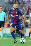 League Santander 2017/2018. Game: 01.<br /> FC Barcelona vs Real Betis: 2-0.<br /> Jordi Alba.