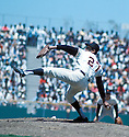 San Francisco Giants Juan Marichal(27) in action during a game from his career. Juan Marichal played for 16 years, with 3 different teams and was inducted to the Baseball Hall of Fame in 1983.David Durochik/SportPics