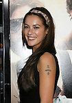 """HOLLYWOOD, CA. - June 02: Actress Sasha Barrese arrives at the Los Angeles premiere of """"The Hangover"""" at Grauman's Chinese Theatre on June 2, 2009 in Hollywood, California."""