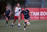 Seattle, WA - Saturday March 24, 2018: Jodie Taylor during a regular season National Women's Soccer League (NWSL) match between the Seattle Reign FC and the Washington Spirit at the UW Medicine Pitch at Memorial Stadium.