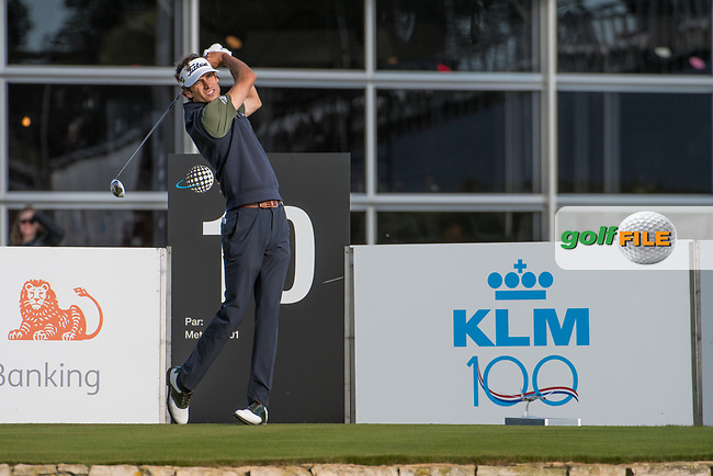 Pedro Oriol (ESP)in action on the 10th hole during the 2nd round at the KLM Open, The International, Amsterdam, Badhoevedorp, Netherlands. 13/09/19.<br /> Picture Stefano Di Maria / Golffile.ie<br /> <br /> All photo usage must carry mandatory copyright credit (© Golffile | Stefano Di Maria)