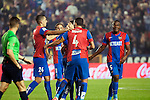 Levante UD's players  during La Liga match. November 7, 2015. (ALTERPHOTOS/Javier Comos)