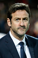 Thomas Christiansen manager of Leeds United Thomas Christiansen manager of Leeds United during the Sky Bet Championship match between Brentford and Leeds United at Griffin Park, London, England on 4 November 2017. Photo by Carlton Myrie.