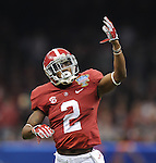 Selected highlights from the Allstate Sugar Bowl as Oklahoma upends Alabama, 45-31, in the Mercedes-Benz Superdome.