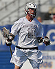 Kyle Steinbach #10 of Garden City reacts after scoring a goal to tie the game 5-5 in the fourth quarter of the Nassau County varsity boys lacrosse Class B final against Manhasset at Hofstra University on Tuesday, May 31, 2016. Garden City rallied from a 5-1 fourth quarter deficit to win 7-5.