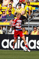 28 AUGUST 2010:  FC Dallas' Brek Shea (20) during MLS soccer game between FC Dallas vs Columbus Crew at Crew Stadium in Columbus, Ohio on August 28, 2010.