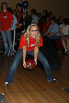 One Life To Live's Kristen Alderson at the Daytime Stars and Strikes Charity Event to benefit the American Cancer Society at the Bowlmore Lanes, New York City, New York. (Photo by Sue Coflin/Max Photos)