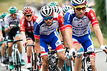 Thibaut Pinot (FRA) Groupama-FDJ in action during Stage 15 of the 2019 Tour de France running 185km from Limoux to Foix Prat d'Albis, France. 20th July 2019.<br /> Picture: ASO/Alex Broadway | Cyclefile<br /> All photos usage must carry mandatory copyright credit (© Cyclefile | ASO/Alex Broadway)