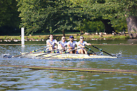 Race: 216  MasB.4x-  Semi-Final<br /> 13  Pocock RC/Quintin BC Composite<br /> 14  Henley Rowing Club<br /> <br /> Henley Masters Regatta 2018 - Saturday<br /> <br /> To purchase this photo, or to see pricing information for Prints and Downloads, click the blue 'Add to Cart' button at the top-right of the page.