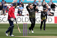 James Bracey in bowling action for Gloucestershire during Essex Eagles vs Gloucestershire, Royal London One-Day Cup Cricket at The Cloudfm County Ground on 7th May 2019