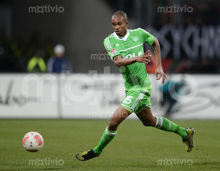 FUSSBALL   1. BUNDESLIGA  SAISON 2012/2013   10. Spieltag 1. FC Nuernberg - VfL Wolfsburg      03.11.2012 Naldo (VfL Wolfsburg)