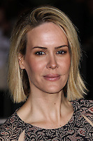 """WESTWOOD, CA, USA - FEBRUARY 24: Sarah Paulson at the World Premiere Of Universal Pictures And Studiocanal's """"Non-Stop"""" held at Regency Village Theatre on February 24, 2014 in Westwood, Los Angeles, California, United States. (Photo by Xavier Collin/Celebrity Monitor)"""