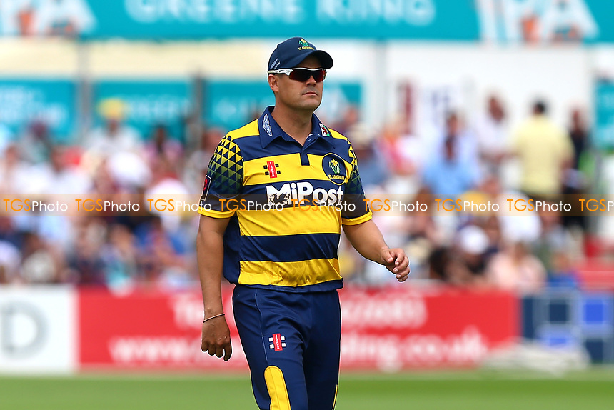 Jacques Rudolph of Glamorgan during Essex Eagles vs Glamorgan, NatWest T20 Blast Cricket at The Cloudfm County Ground on 16th July 2017