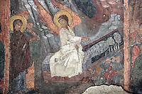 BG11143.JPG BULGARIA, SOFIA, ST. PETKA SAMARDZHIISKA CHURCH, 14TH C., frescoes