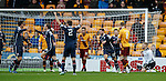 Jackson Irvine celebrates as Ross County take the lead