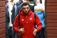 Troy Deeney of Watford ahead of Woking vs Watford, Emirates FA Cup Football at The Laithwaite Community Stadium on 6th January 2019
